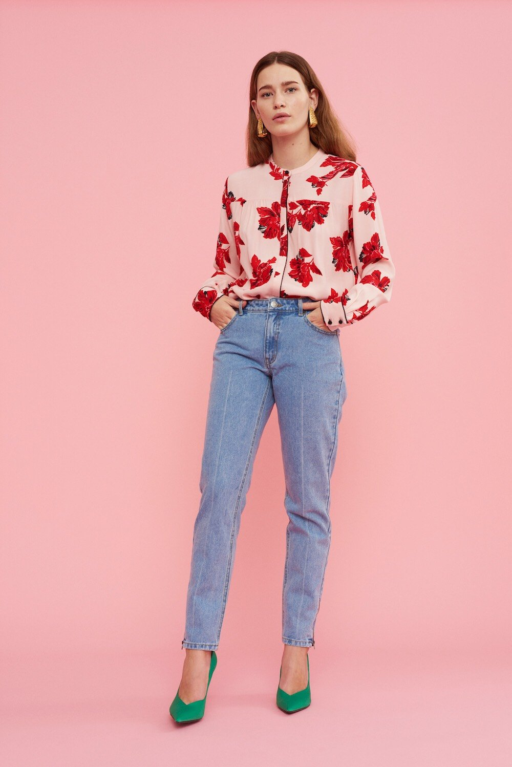 Jacques Print Shirt - Oriental Flower