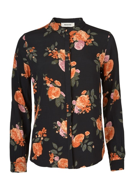 Kendall Print Shirt - Rose Garden