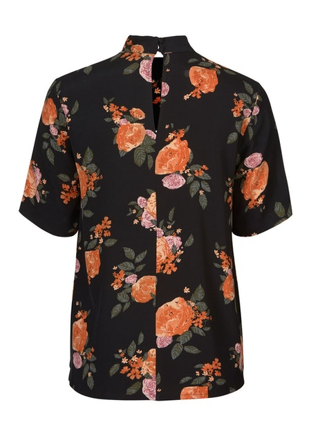 Kendall Print Top - Rose Garden