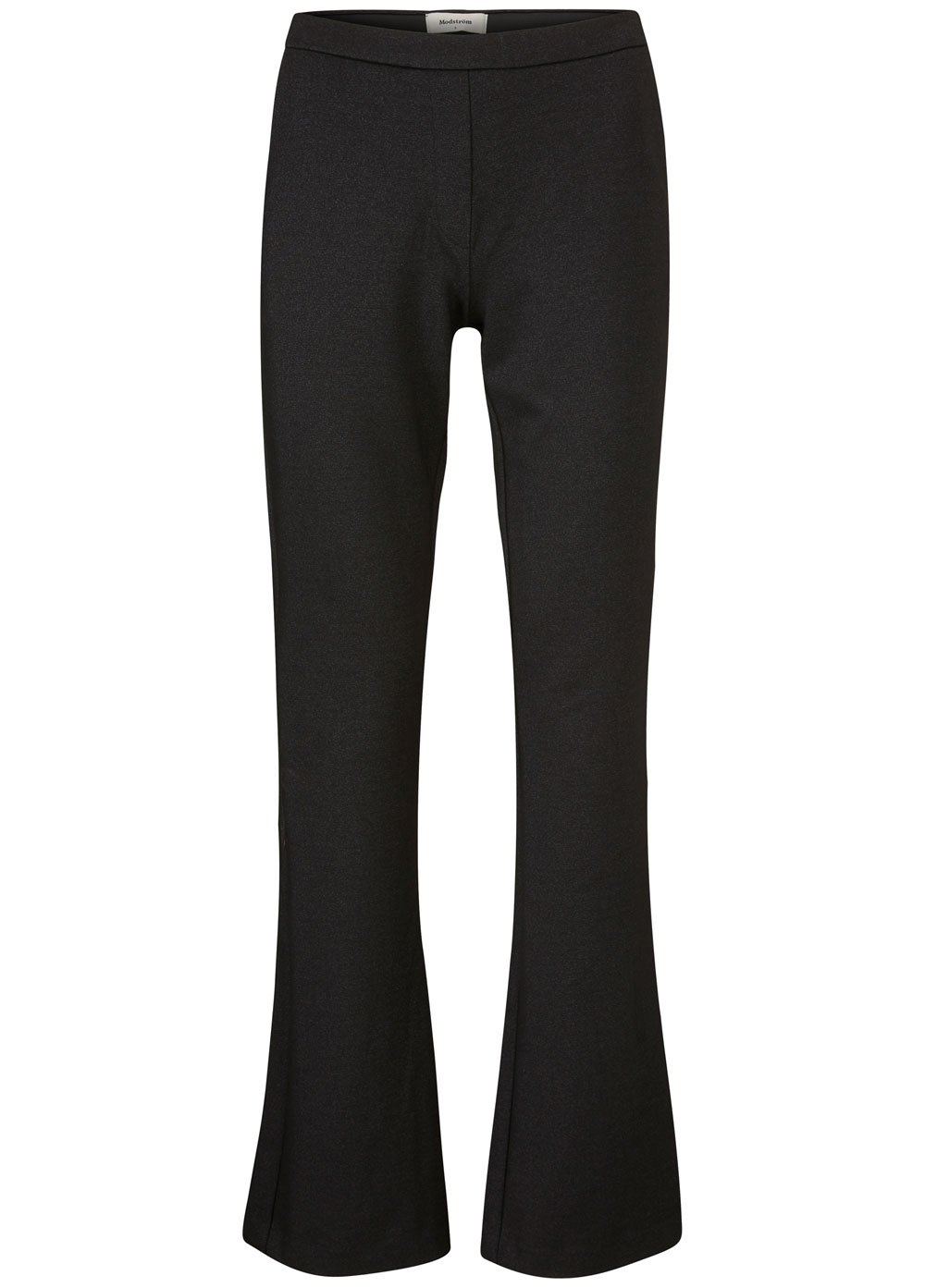 Tanny Lurex Flare Pants - Black