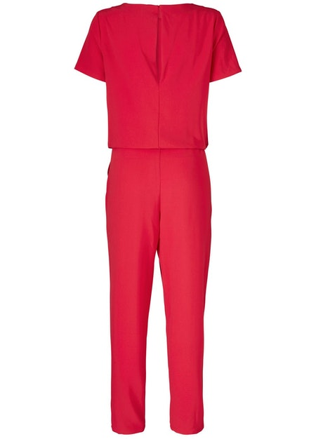 Campell Jumpsuit - Winter Red