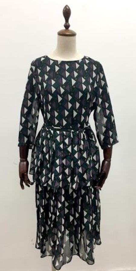 Stella Long Dress - Green