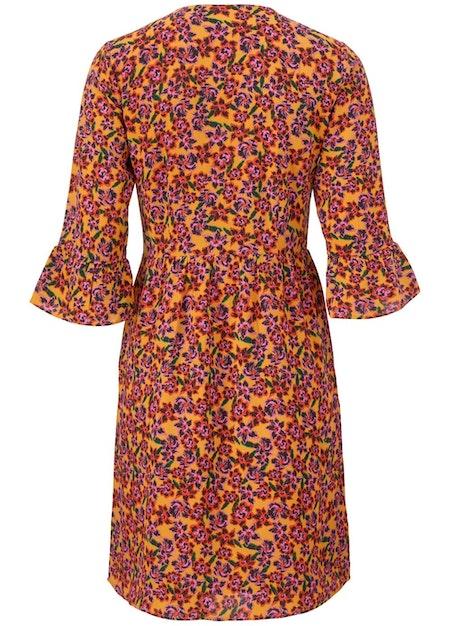 Madonna Print Dress - Flower Love