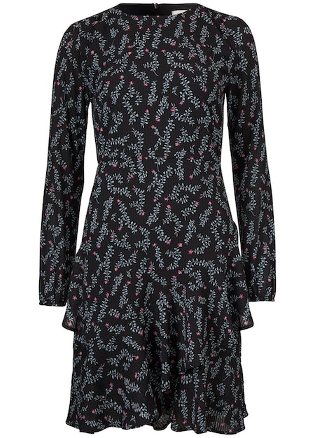 Marcel Print Dress - Flower Stalks