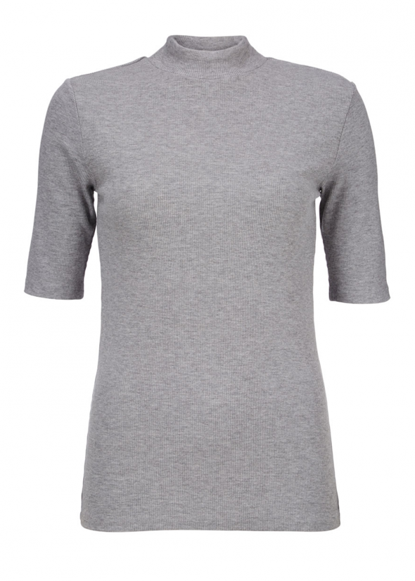 Krown T-Shirt - Grey Melange