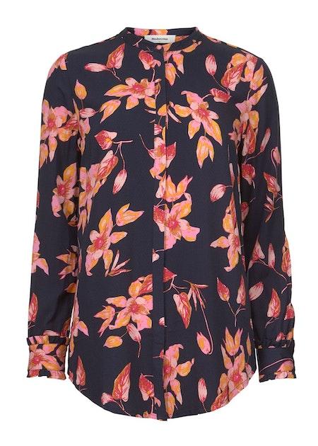 Mercedes Print Shirt - Fantasy Flower