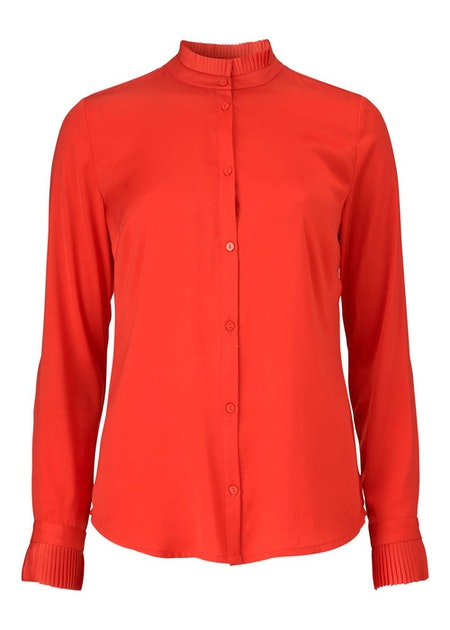 Noelle Shirt - Fire Red