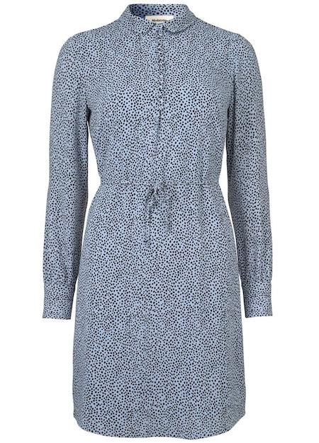 Magnolia Print Dress - Scatter Dream Cornflower