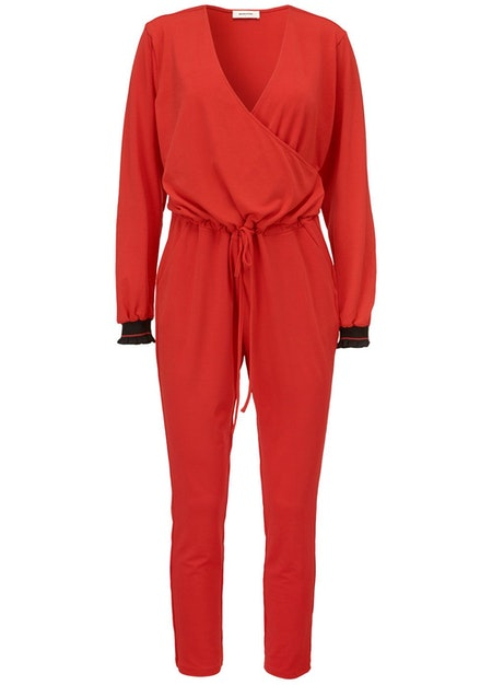 Katie Jumpsuit - Fire Red
