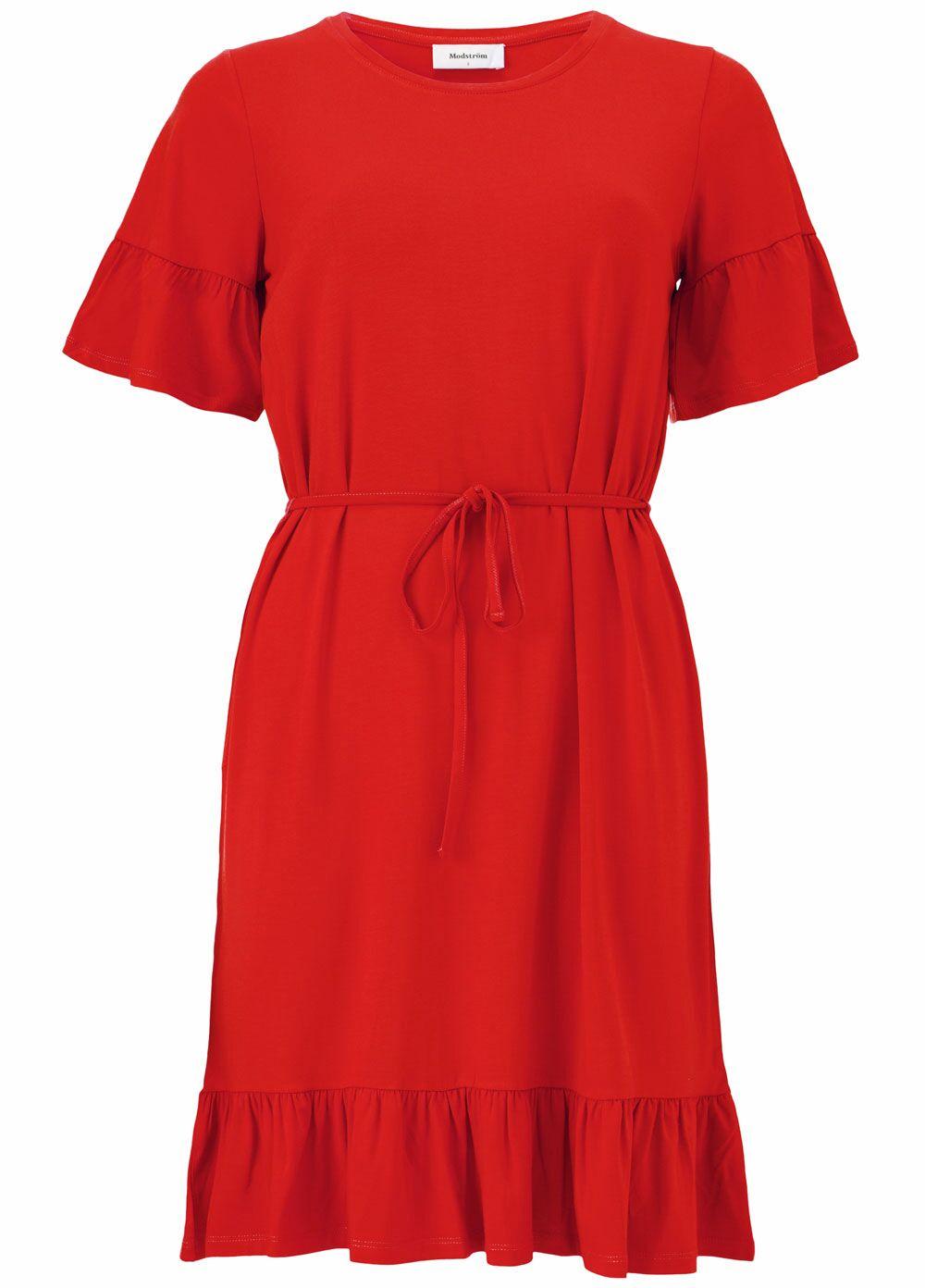 Nilen Dress - Fire Red