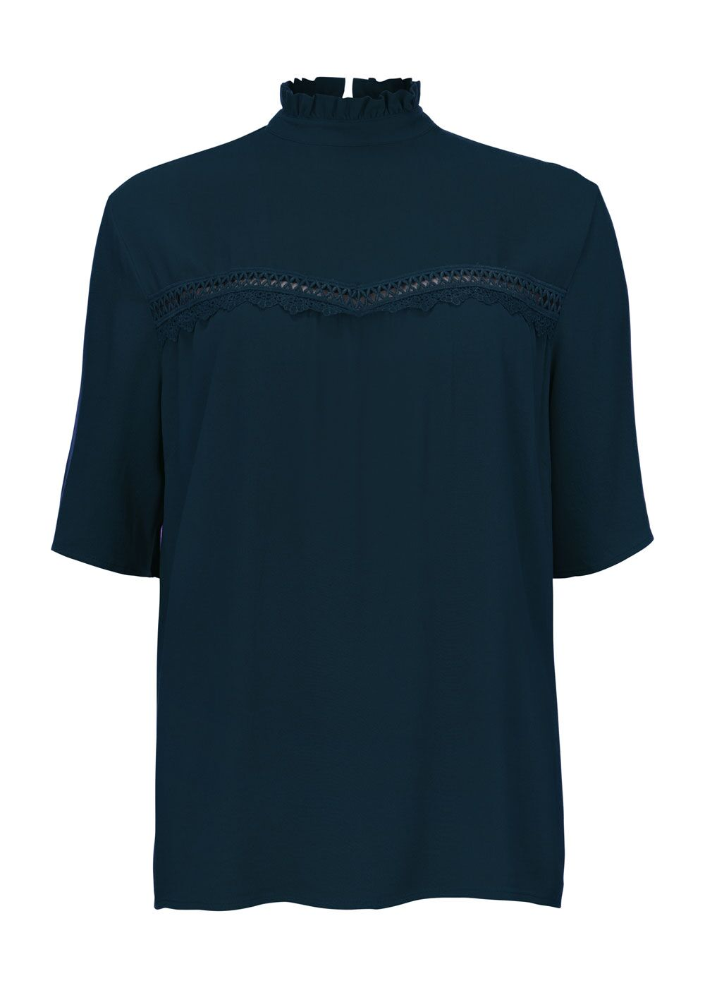 Noa Top - Navy Sky