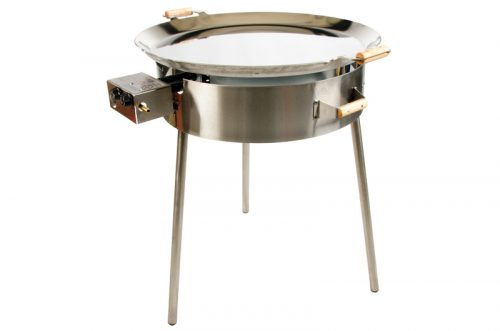 Stekhäll Gasol PRO-720 inox ( rostfritt stål ) utan lock