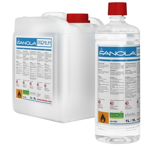 12 st Fanola 1 liters flaskor Etanol till Planika produkter