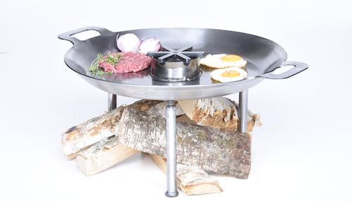 72 cm Wild chef, stekhäll, wok= allt i ett