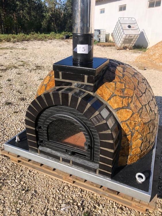 Pizzaugn med natursten 120 cm .Nr 15 i lager