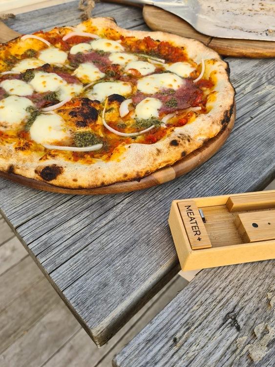 Pizzaugn natursten 110 cm,nr 29.inkl pizzaspadeset, I lager
