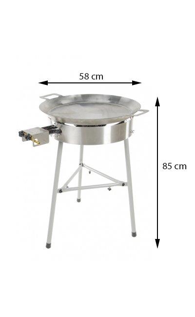 Stekhäll Gasol BASIC-580 utan lock