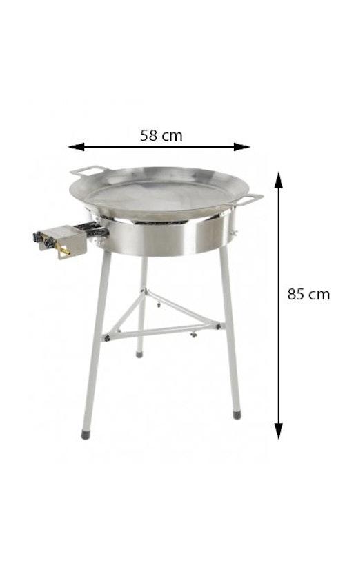Stekhäll Gasol BASIC-580 grillsymbol