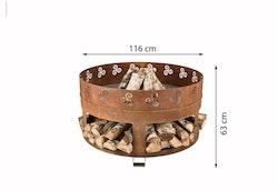 Eldstad Corten Utomhus Antigo . Ord pris 12900 kr