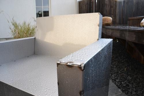Skylt ex. Plåt-ren design möbel egen design