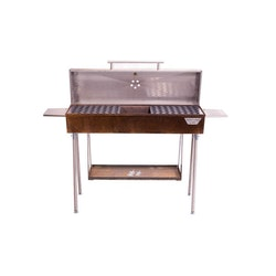 Corten kolgrill chef XL