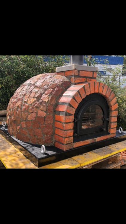 Pizza ugn isolerad Modell nr 9. Högst kvalité.