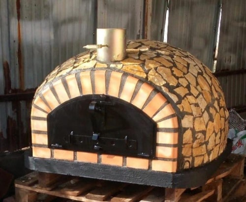 Pizzaugn Modell nr 7, Vedeldad, 100 cm,