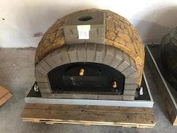 Pizza ugn Modell nr 13. 110 x 110 cm. Isolerad med högst kvalité.