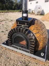 Pizzaugn med natursten 110 cm  nr 15