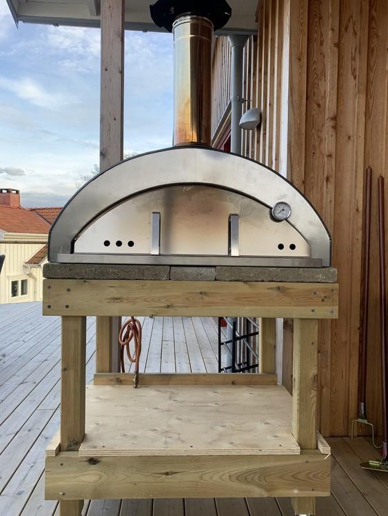 Pizzaiolo 4 pizzor gasoldrift. fr 15/10 i lager
