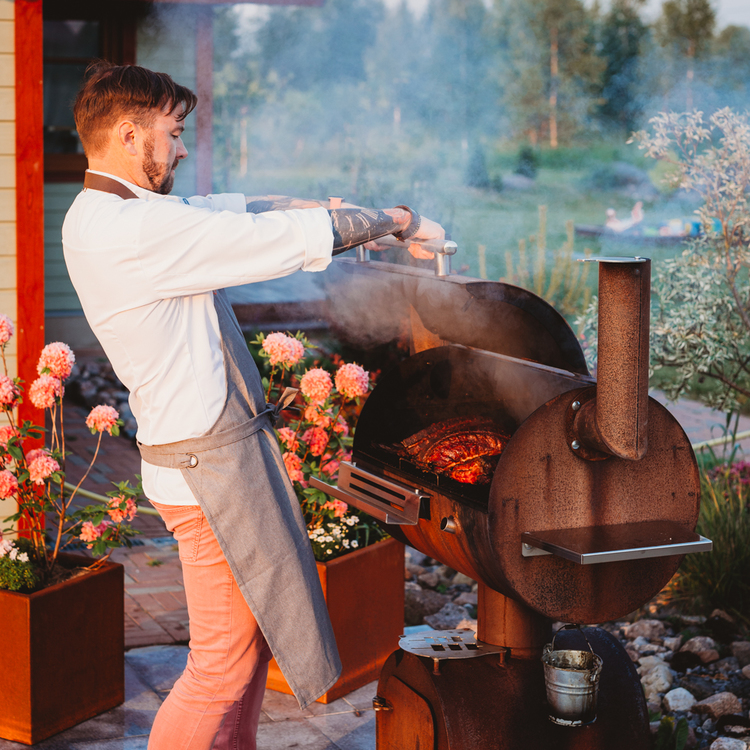 GrillSymbol Smoky Beast BBQ Rökgrill. Ord 15900 kr. Erbj fr 7/5 till slut