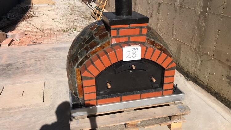 nr 28 Pizzaugn 110 cm, med pizzaspadeset 28900 kr, 19/8 färdig på fabrik