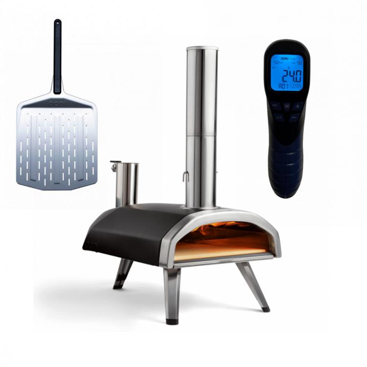Ooni Fyra inkl pizzaspade och infraröd termometer