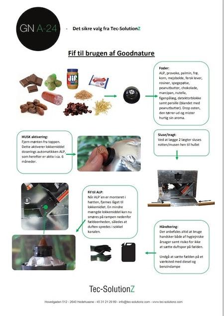 Goodnature a24 proffsfälla mot mus / rått. Ord 5490
