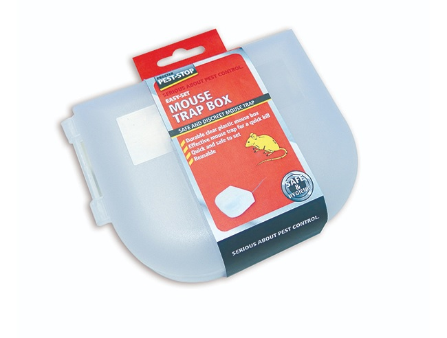 3 st Musfälla Hygienisk låda