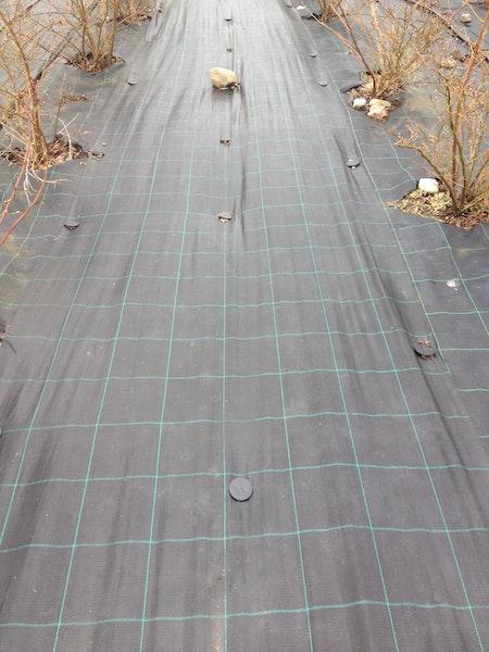 2 st MARKTÄCKVÄV:100 meter x 1 m bred.FRAKTFRITT