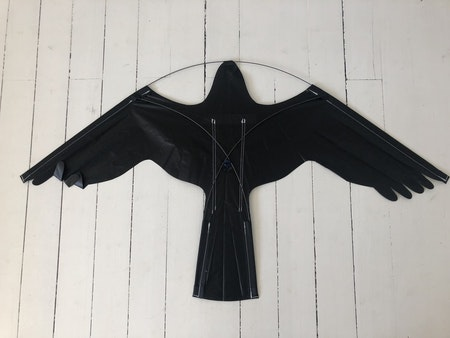 5 m Fågelskrämma komplett med drake o 1 boll.