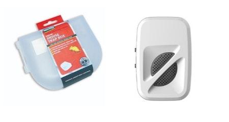 Musskrämma 1 st 370 kvm + musfälla i plastlåda