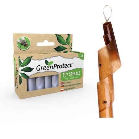 Flugfångare. gpfs, Green Protect Fly Spirals. Pris fr 8/5