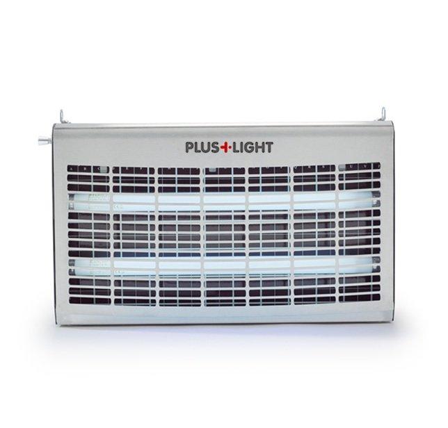 Klisterfångare PlusLight®, 60 watt, Stainless / rostfr