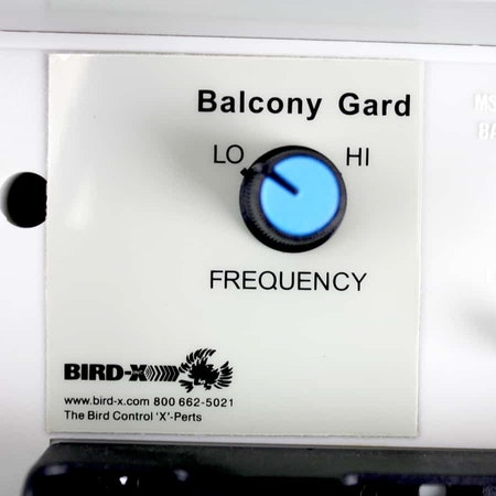 fågelskrämma ljudlös balkong vakt