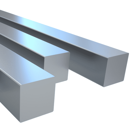 Rostfri fyrkantstång 8x8