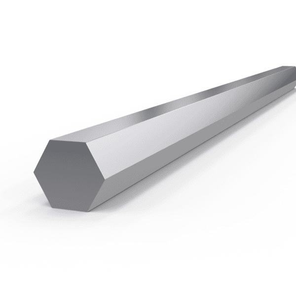 Rostfri sexkantstång 17 mm