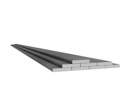 Rostfri plattstång 25x6