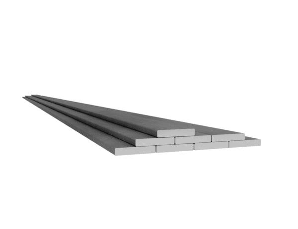 Rostfri plattstång 50x25