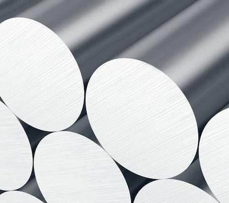 Aluminium Rundstång 60mm