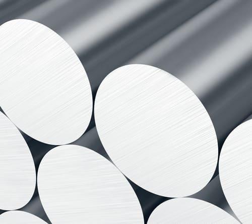 Aluminium Rundstång 70mm