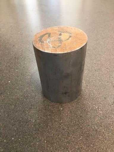 Svarvämne Aluminium AW-6026 Ø80