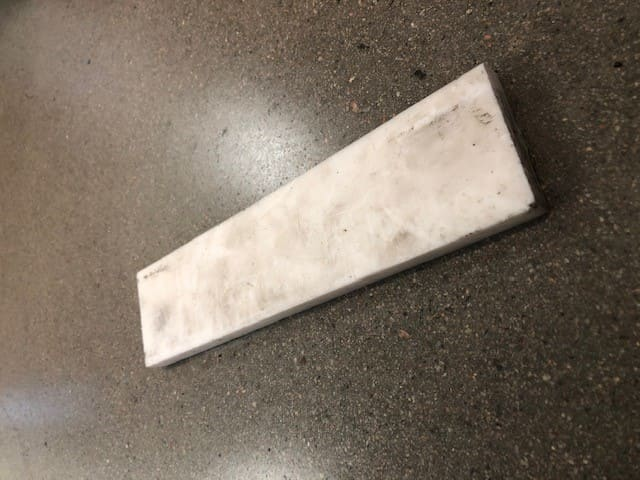 Vit plast, 46x10x189mm