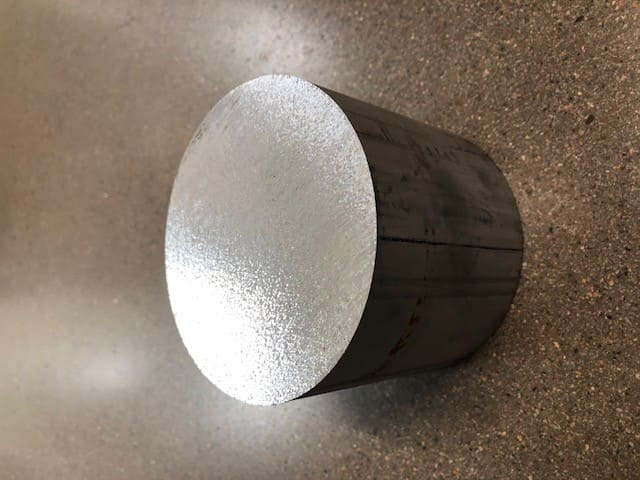 Aluminium diameter 100 mm AW6026 Svarvämne
